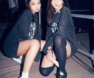 blackpink, jennie, and jisoo image