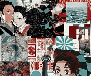 anime, manga, and red image