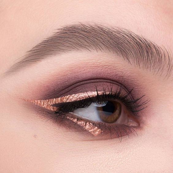eyes, eyeshadow, and style image