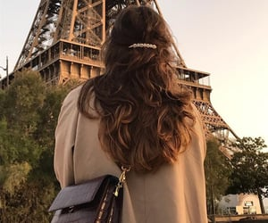 fashion, hair, and paris image