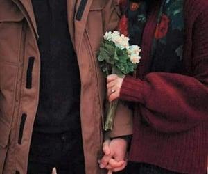 couple, love, and ًورد image