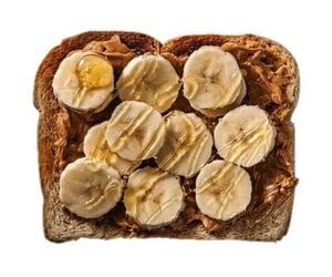 aesthetics, banana, and bread image