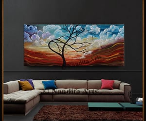 abstract art, etsy, and scenery image