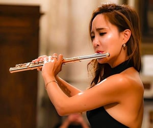 classical music, flute, and concert image