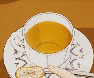anime, drinks, and food image