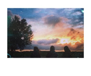 colorful sky, memory, and friendship image