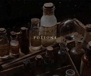 gif, potions, and harry potter image