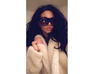 brunette, fashion, and glasses image