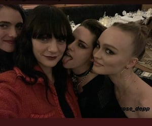 kristen stewart, lily rose depp, and lily rose image