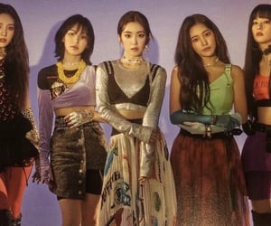 girl group, article, and red velvet image