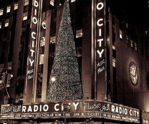 christmas, city, and christmas tree image