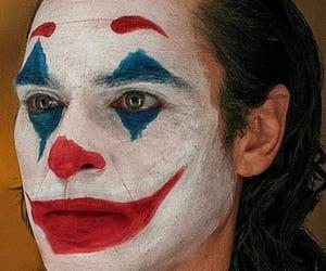 clown, joaquin phoenix, and joker image