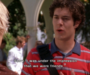 quote, girl, and seth cohen image