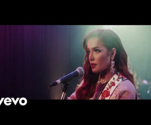 finally, halsey, and video image