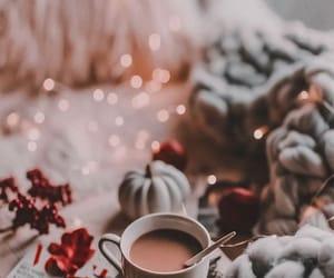 christmas, coffee, and wallpaper image