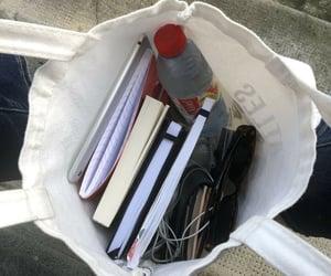 bag, book, and study image