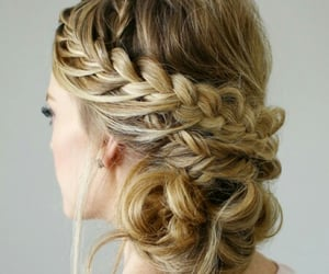 blonde, color, and cabello image