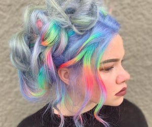 aesthetic, color, and hair image