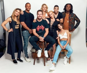 arrow, family, and willa holland image