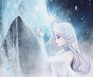 art, disney, and frozen image