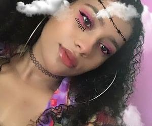 curlyhair and babbimyself image