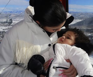 kylie jenner, stormi, and style image