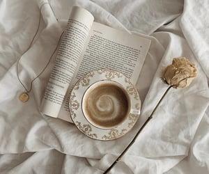 books, coffee, and fashion image