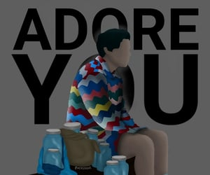 adore you, harrystyles, and larrystylinson image