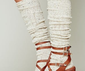 jeffrey campbell, sandals, and socks image