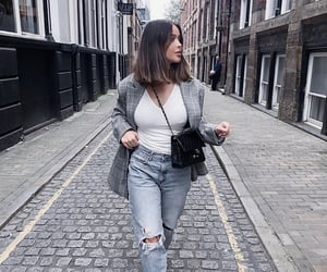 cities, fashion, and outfit image