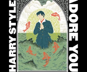music, adore you, and Harry Styles image