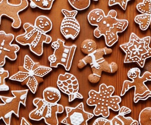 decorating, gingerbread, and man image