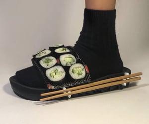 aesthetic, fashion, and sushi image