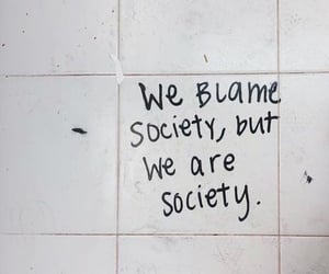 quotes, society, and wall image