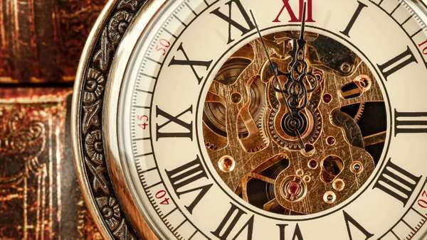 article, time, and clock image