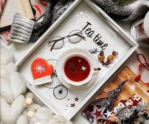 cup of tea, merry christmas, and tea image