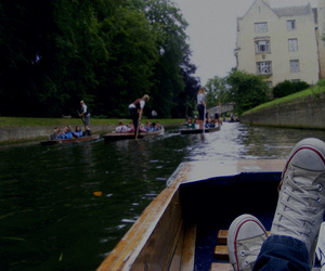 relax, boat, and shoes image