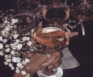 bronze, classy, and drinks image