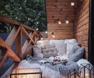 home, light, and balcony image
