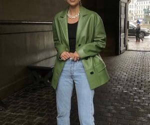 fashion, fashion victim, and green image