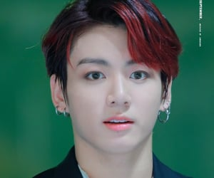 bts, mma 2018, and red hair image
