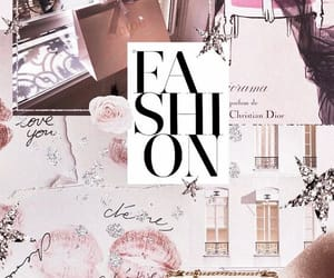 background, chanel, and Collage image