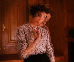 90s, Sherilyn Fenn, and Twin Peaks image