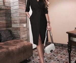 black, fashion, and pretty image