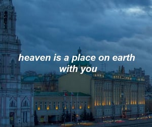 quotes, heaven, and blue image