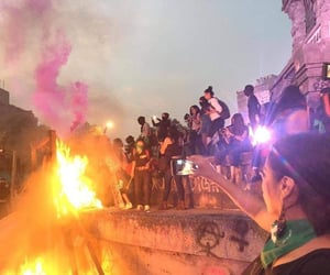 feminist, fire, and fuego image