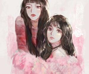 fanart, kpop, and red velvet image