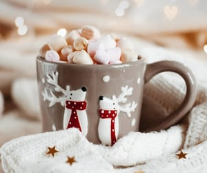 christmas and marshmallow image
