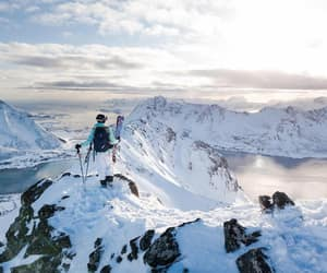 hike, nature, and norway image