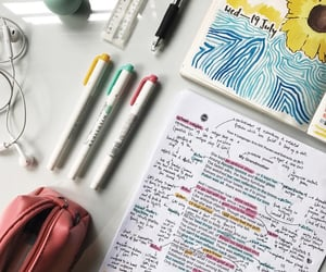 homework, japanese, and notes image